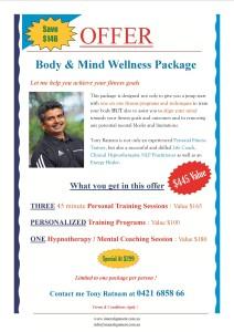 Wellness package -Nov 15